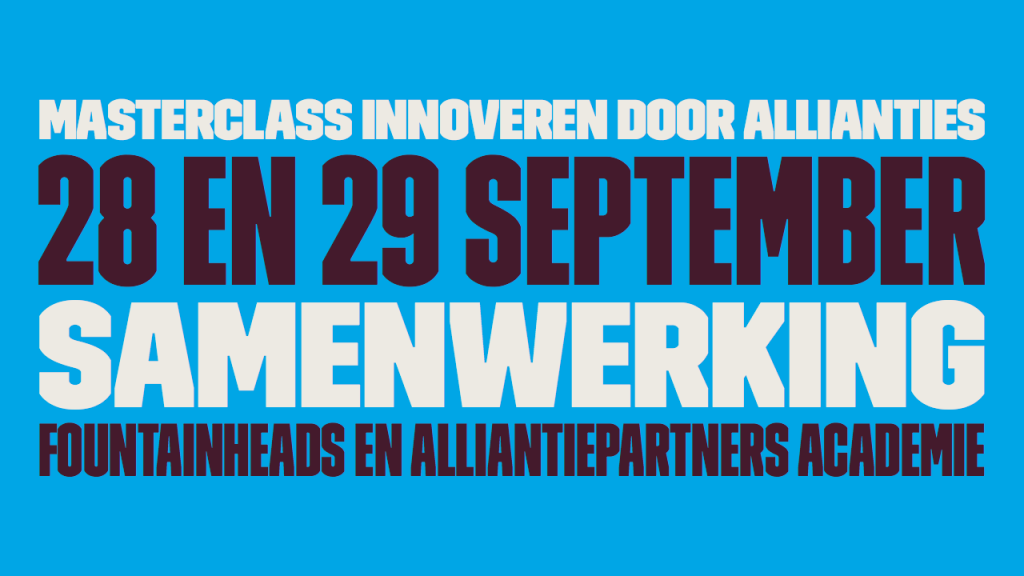 Innoveren door allianties